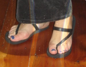 My jandals.
